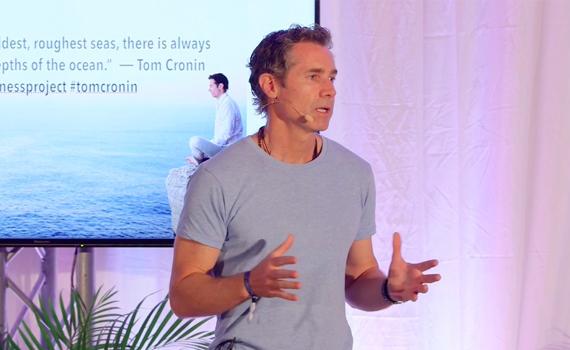 Tom Cronin - Speaker - Wellbeing Event