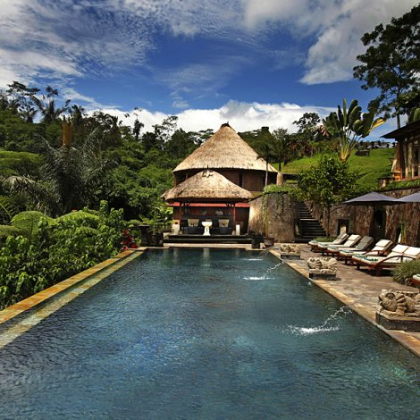 Tom Cronin - Retreat Bali - Bagus Jati Resort Pool